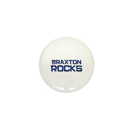 braxton rocks Mini Button (10 pack)
