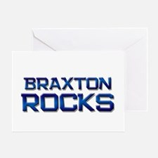 braxton rocks Greeting Card