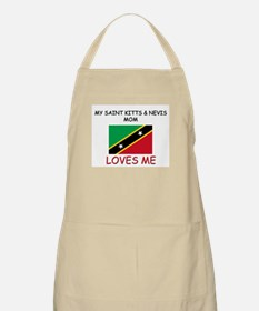My Saint Kitts & Nevis Mom Loves Me BBQ Apron