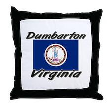 Dumbarton virginia Throw Pillow