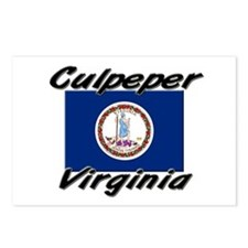 Culpeper virginia Postcards (Package of 8)