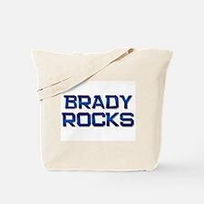 brady rocks Tote Bag