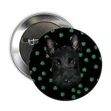 """Kiss Me Scottie Pup 2.25"""" Button"""