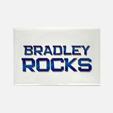 bradley rocks Rectangle Magnet