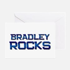 bradley rocks Greeting Card