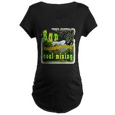 Ban mountaintop removal coal T-Shirt
