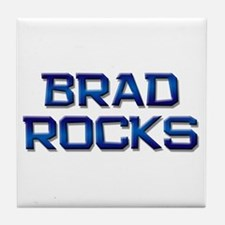 brad rocks Tile Coaster