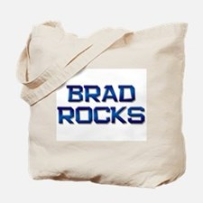 brad rocks Tote Bag