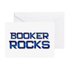booker rocks Greeting Card