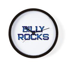 billy rocks Wall Clock