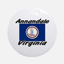 Annandale virginia Ornament (Round)