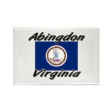Abingdon virginia Rectangle Magnet