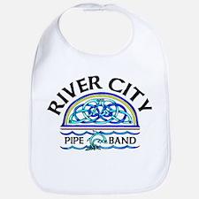 River City Pipe Band Logo Bib