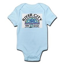 River City Pipe Band Logo Infant Creeper