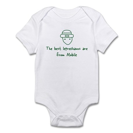 Mobile leprechauns Infant Bodysuit