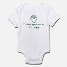 Mobile leprechauns Infant Bodysuit
