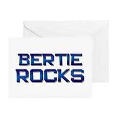 bertie rocks Greeting Cards (Pk of 10)