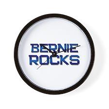 bernie rocks Wall Clock
