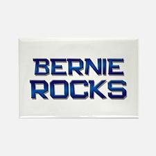 bernie rocks Rectangle Magnet