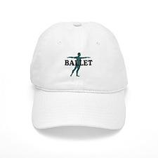 Male Ballet Silhouette Baseball Baseball Cap