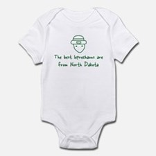 North Dakota leprechauns Infant Bodysuit