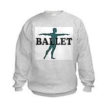 Male Ballet Silhouette Sweatshirt