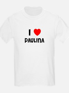 I LOVE PAULINA Kids T-Shirt