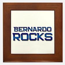 bernardo rocks Framed Tile