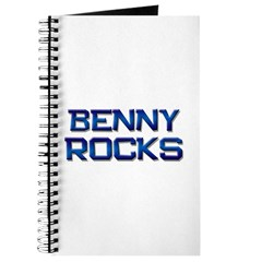 benny rocks Journal