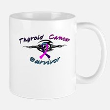 Tribal Thyroid Cancer Mug