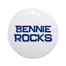 bennie rocks Ornament (Round)