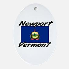 Newport Vermont Oval Ornament