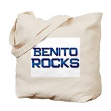 benito rocks Tote Bag