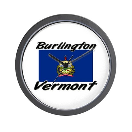 Burlington Vermont Wall Clock