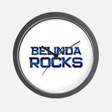 belinda rocks Wall Clock