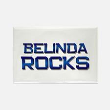 belinda rocks Rectangle Magnet