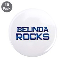 "belinda rocks 3.5"" Button (10 pack)"