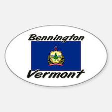 Bennington Vermont Oval Decal