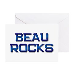 beau rocks Greeting Cards (Pk of 20)