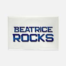 beatrice rocks Rectangle Magnet