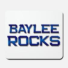baylee rocks Mousepad