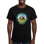 Living Organic Vermont Men's Fitted T-Shirt (dark)