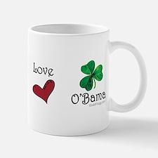 oddFrogg Peace Love O'Bama Mug
