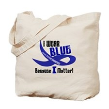 I Wear Blue For ME 33 CC Tote Bag