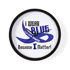 I Wear Blue For ME 33 CC Wall Clock