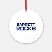 barrett rocks Ornament (Round)