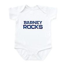 barney rocks Infant Bodysuit
