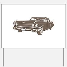 1959 Cadillac Yard Sign
