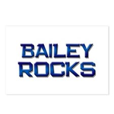 bailey rocks Postcards (Package of 8)