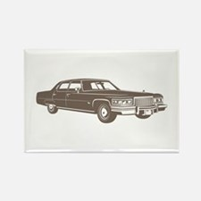 1975 Cadillac Fleetwood Rectangle Magnet